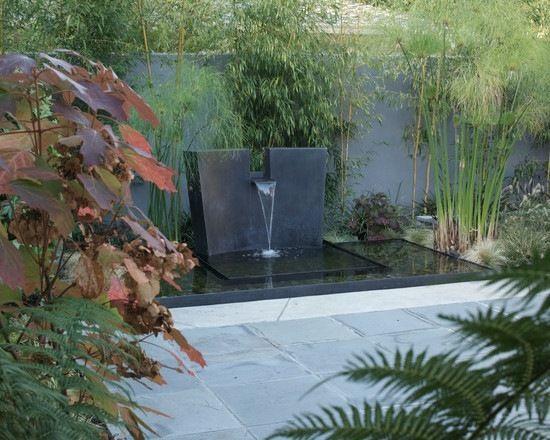 Cascade de jardin, fontaine et bassin- 80 oasis modernes   Final ...