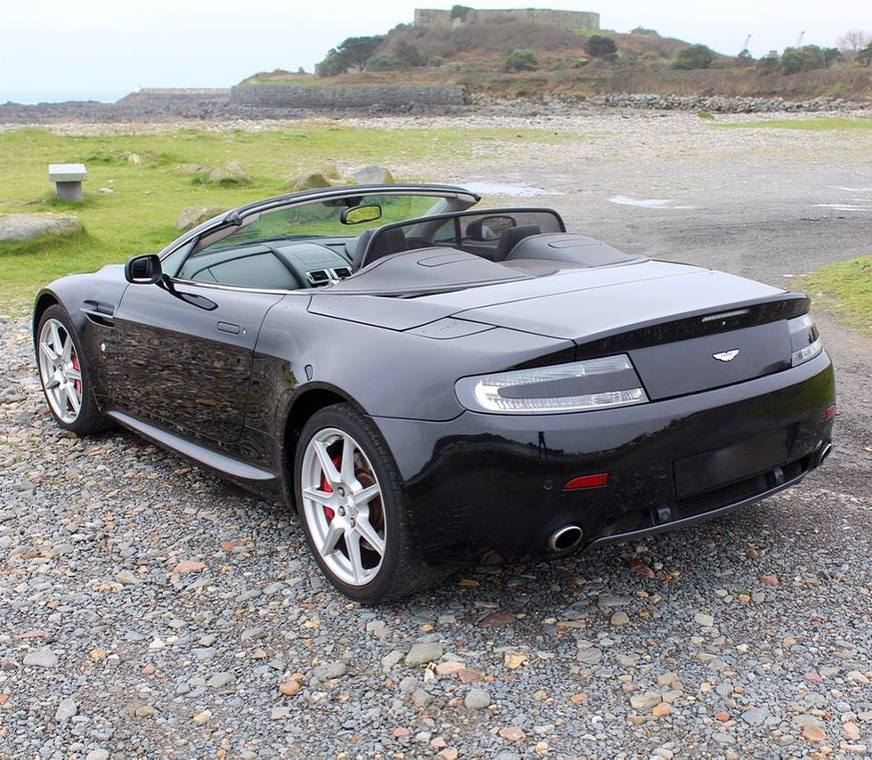 Stunning Aston Martin V8 Vantage. How To Make Money Buying