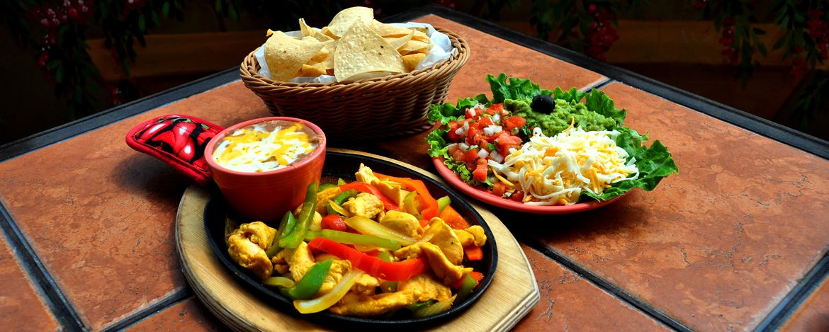 Authentic mexican food party and catering platters