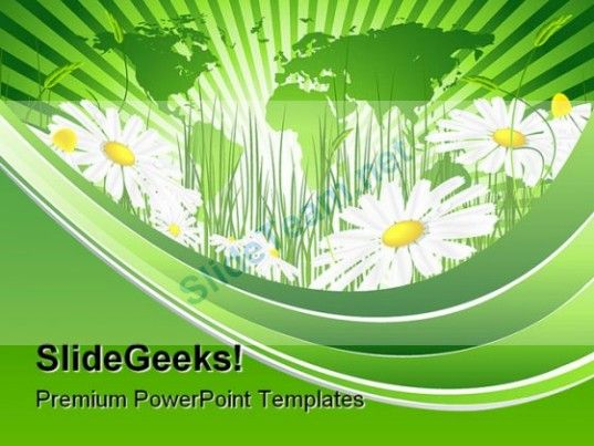 Environmental Concept Nature PowerPoint Template 1010 #PowerPoint - nature powerpoint template