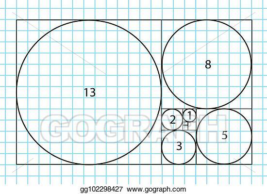 Eps Illustration Golden Ratio Template Vector Divine Proportions Golden Proportion Universal Meaning Golden Ratio In Design Divine Proportion Golden Ratio