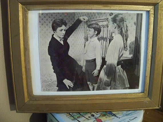 Framed Picture Mary Poppins Scene From The Movie Good To Know