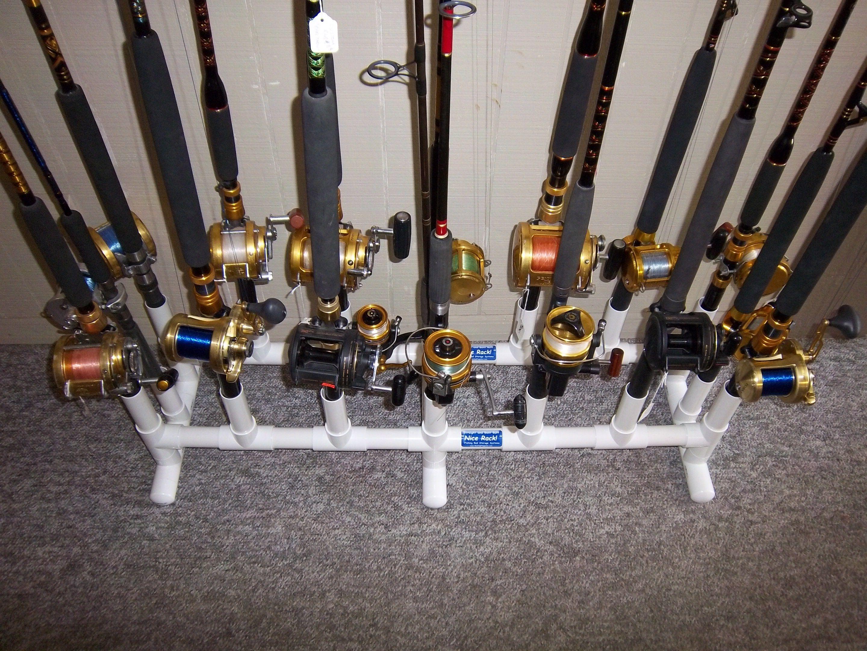 Pvc Fishing Rod Holder Ideas Fishing Rod Storage