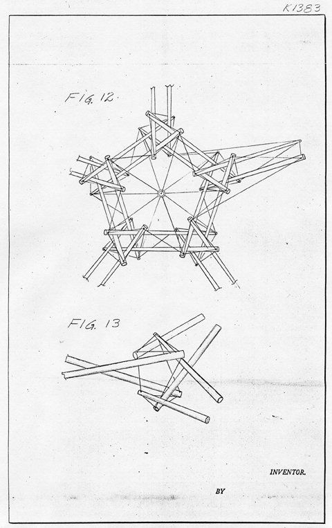 p. 6 from Snelson's 1962 patent drawings