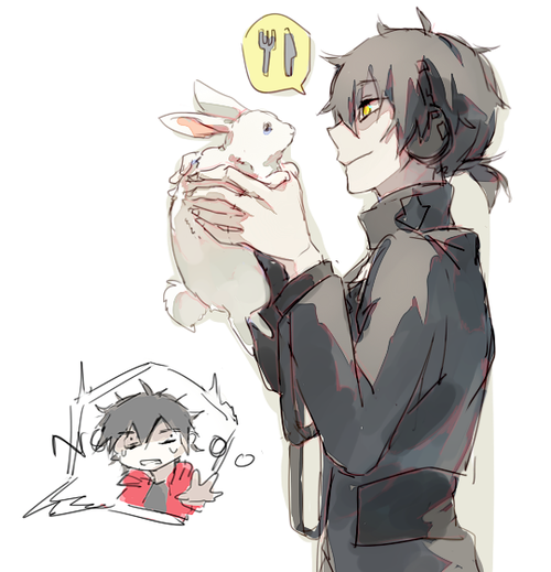 Shintaro y Kuroha || Originally on Tumblr