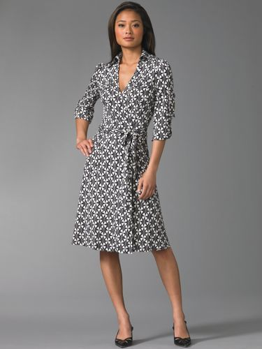 3cc4bc32000b7 The Look For Less: DVF Wrap Dress | Research: My Style | Wrap dress ...