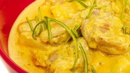 كاري الدجاج بحليب جوز الهند Curry Whole Food Recipes Recipes