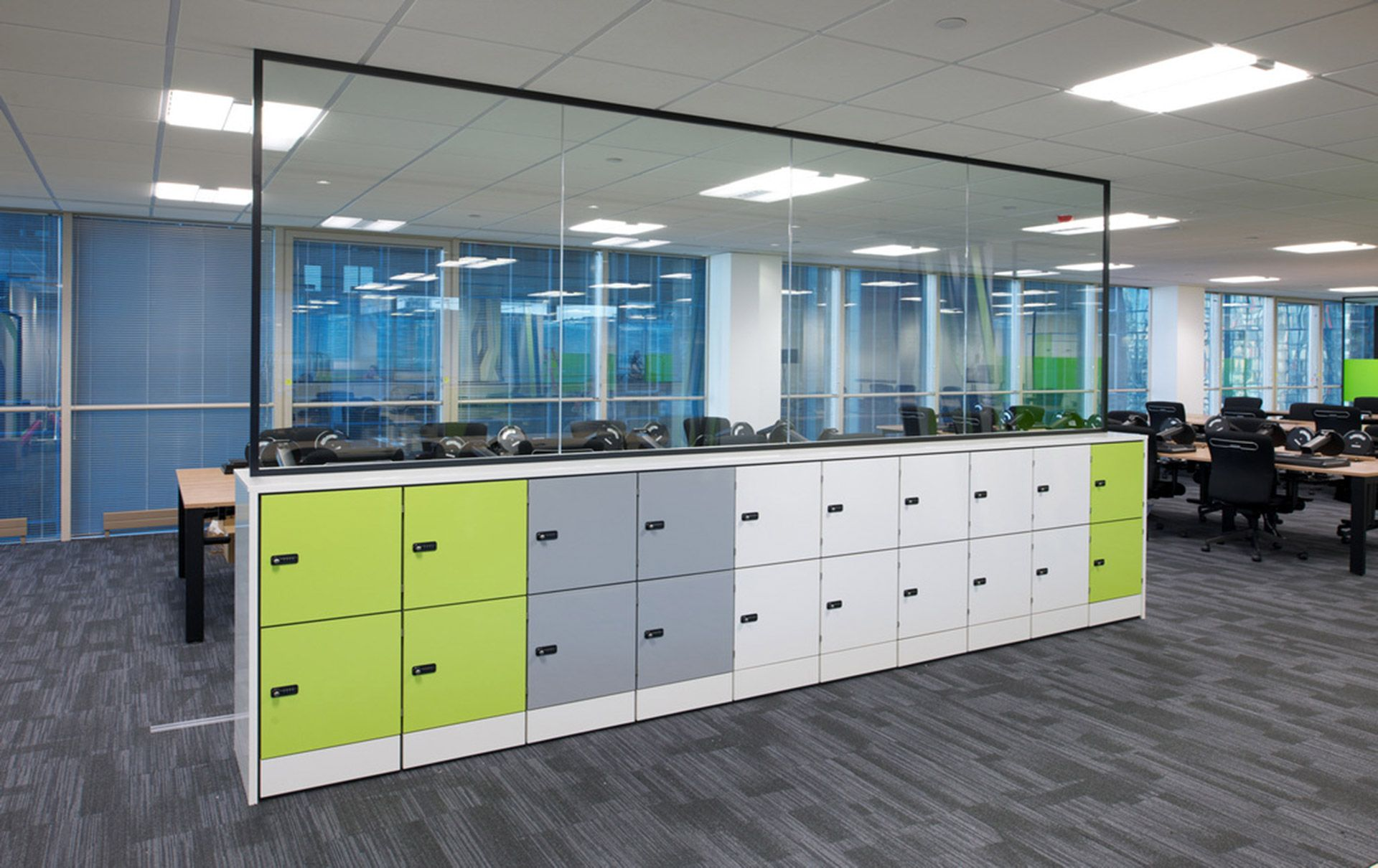 personal office design. HotLocker Personal Storage Offers Flexible, Secure And Various Sized Office Lockers For Hot Desking Agile Working Environments. Design