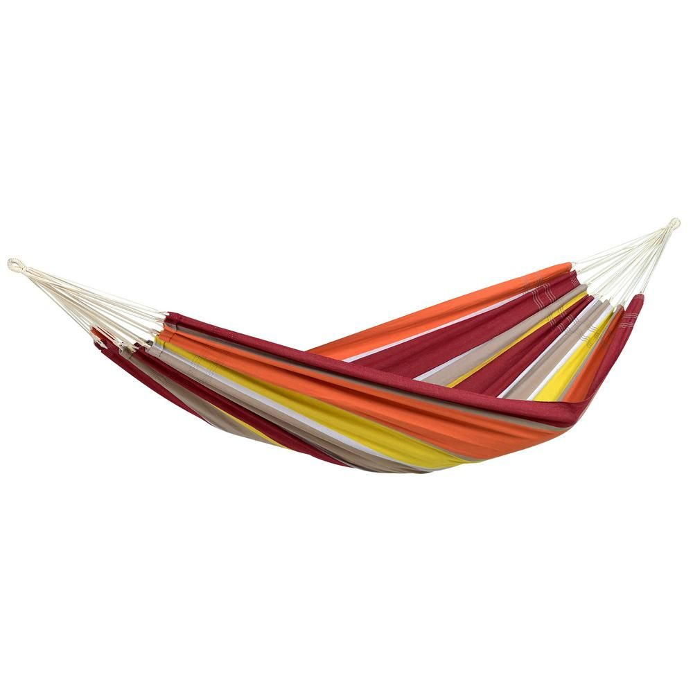Byer of Maine 11 ft. 2 in. Cotton/Poly Brazilian Hammock-A101894 - The Home Depot