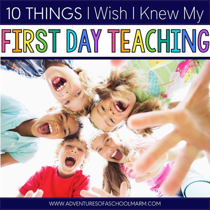 10 Things I Wish I Knew My First Day of Teaching // Adventures of a Schoolmarm