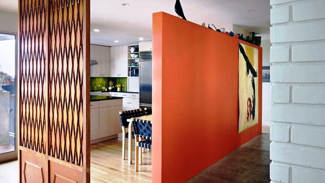Ingenious and creative freestanding divider walls smart ideas for open