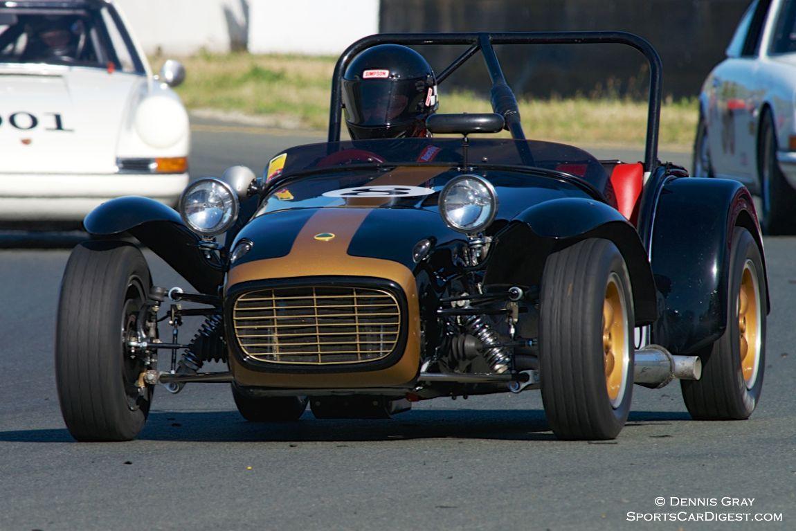 Paul Quackenbush's Lotus Super Seven.