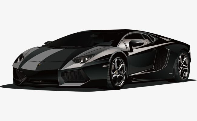 Lamborghini Black Sports Car Car Clipart Png Black Vector Car Vector Png And Vector With Transparent Background For Free Download Super Cars Sports Car Red Sports Car