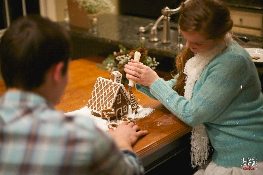 christmas couples photography, raleigh nc engagement photographers