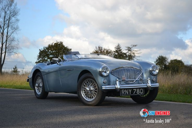 #SWEngines The Austin-Healey 100 is a sports car built from 1953 until 1956