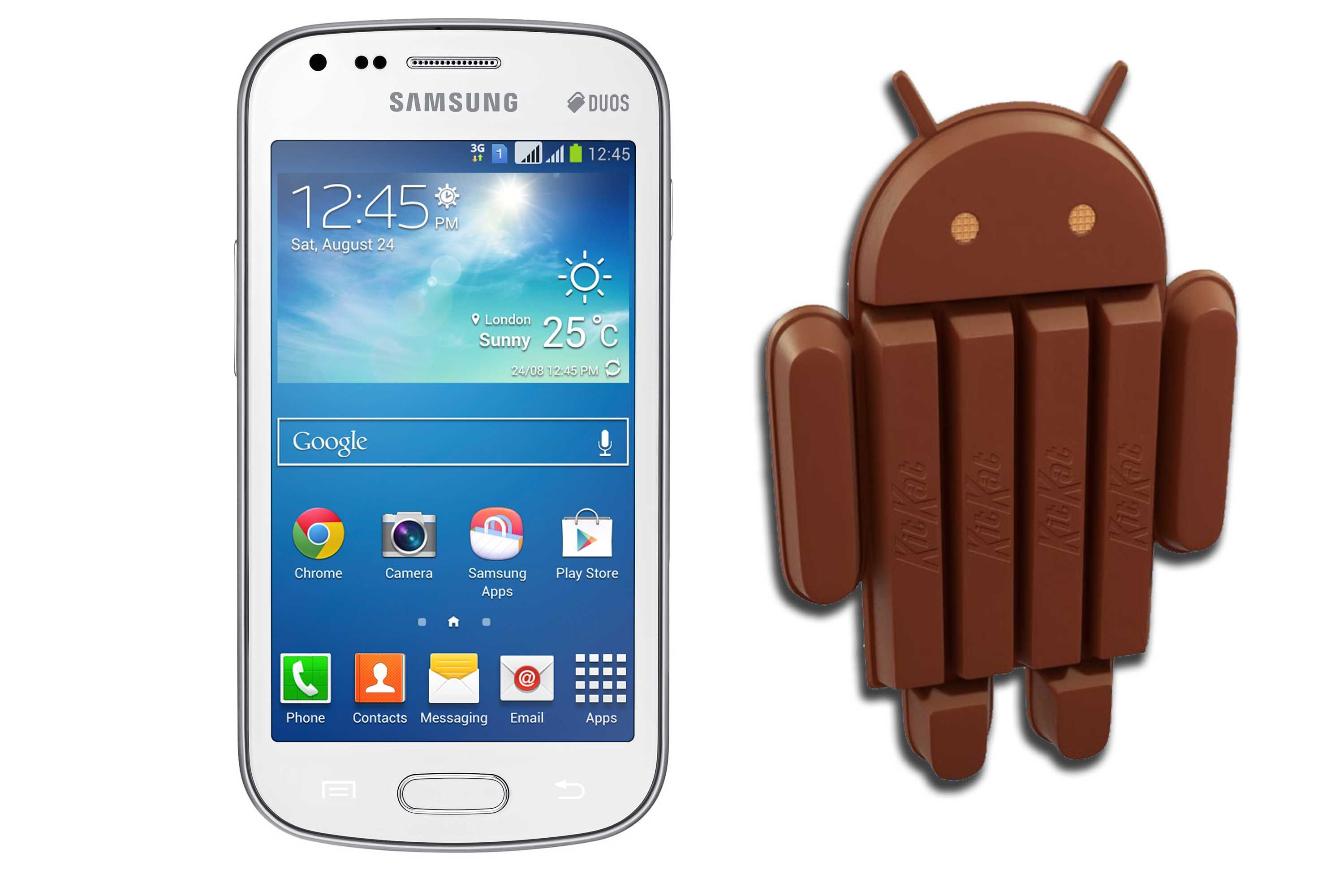 Update Samsung Galaxy S Duos S7562 With Android Kitkat 4.4