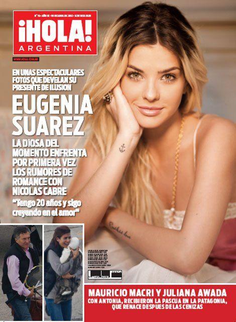Maria eugenia china suarez actriz argentina for Revistas argentinas de farandula