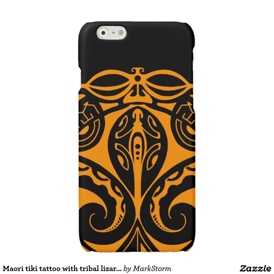 f064d36d3 Maori tattoo design in full color glossy iPhone 6 case Maoritattoos