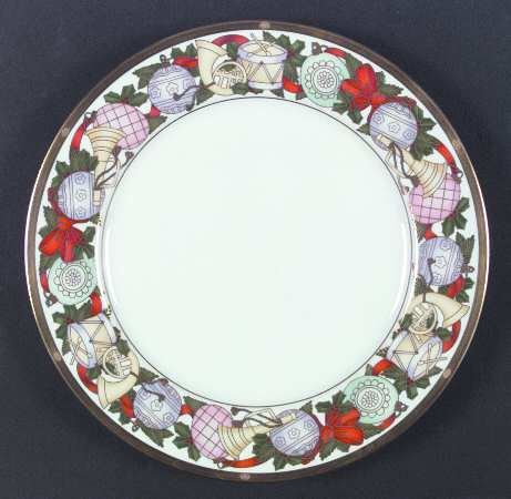 Dior Christmas Plate Classic Holiday Patterns At Replacements Ltd Page