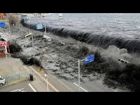 일본 쓰나미 - 충격적인 장면들