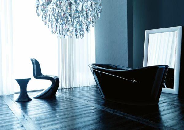 Swarovski Badezimmer ~ Designer badezimmer badewanne waschbecken mit säule keramik