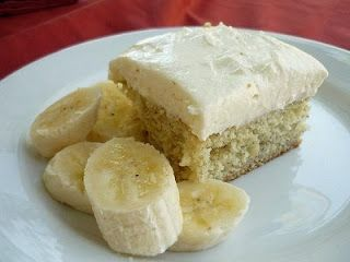 It's called the Best Banana Cake Ever.  i want this NOW.