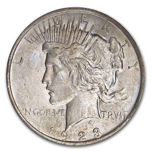 1922-1935 Peace Silver Dollar Cull Random Year