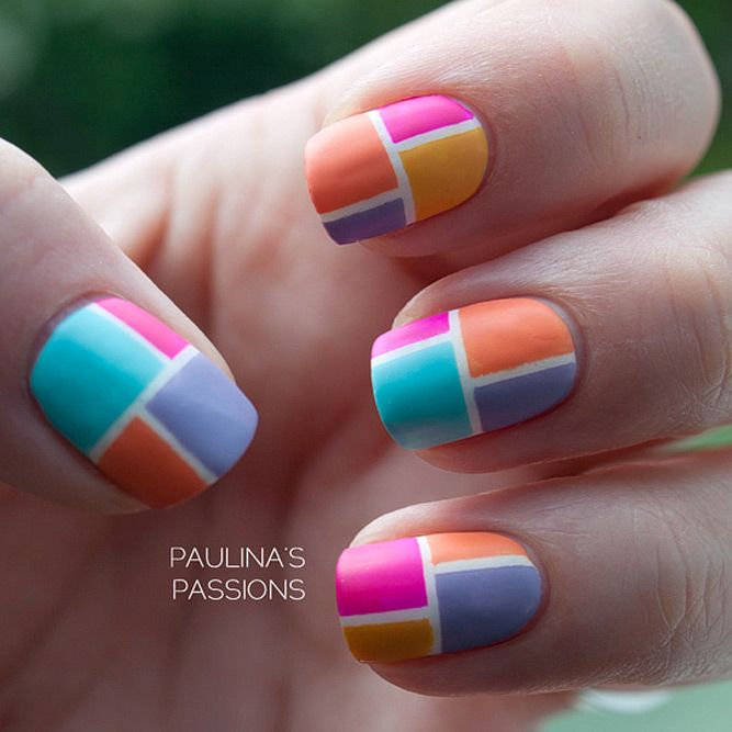 18 funky summer nail designs to impress your friends summery 18 funky summer nail designs to impress your friends prinsesfo Image collections
