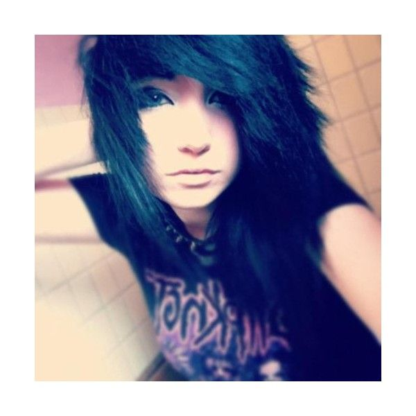 scene girls | Tumblr ❤ liked on Polyvore featuring hair, girls, people, scene girls and emo girls