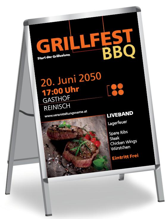 Plakate für verschiedene Anlässe #plakat #plakate #grillfest #grill #barbeque #bbq #grillspieße #saucen #familie