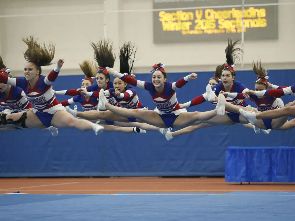 Another Section V cheer title for Fairport (With images