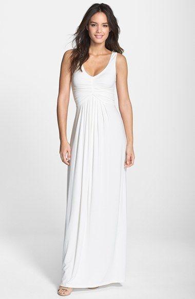 Nordstrom - Tart 'Tonia' Shirred Jersey Maxi Dress ...