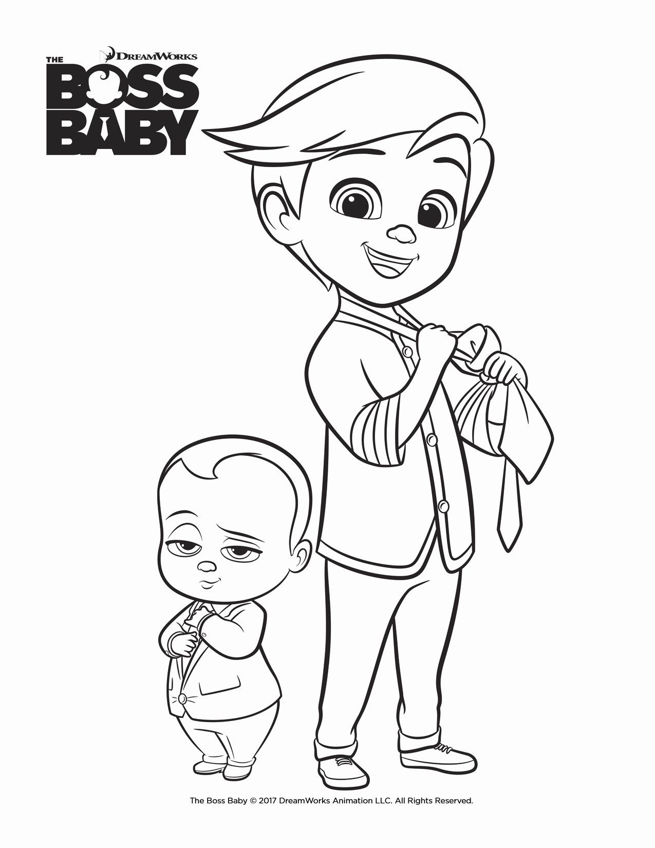 Boss Baby Coloring Page Best Of Celebrating Siblings And Friendships With The Boss Baby Mummy In The C Baby Coloring Pages Puppy Coloring Pages Baby Printables