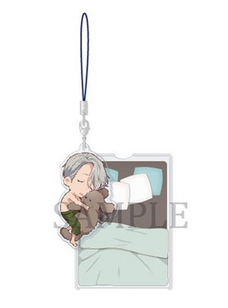 on ICE Victor Nikiforov Yuri Goodnight acrylic Keychain Keyring Strap YURI!