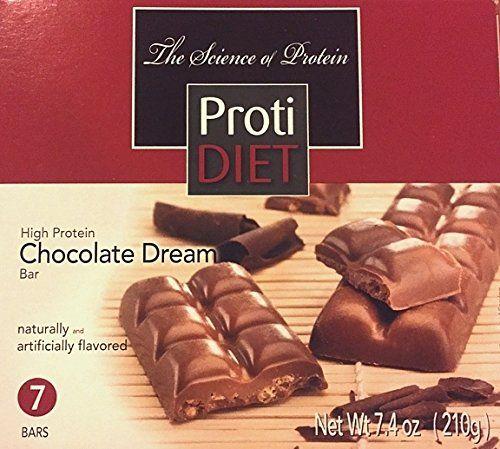 Protidiet High Protein Chocolate Dream Bar 7 Servings Per Box 10