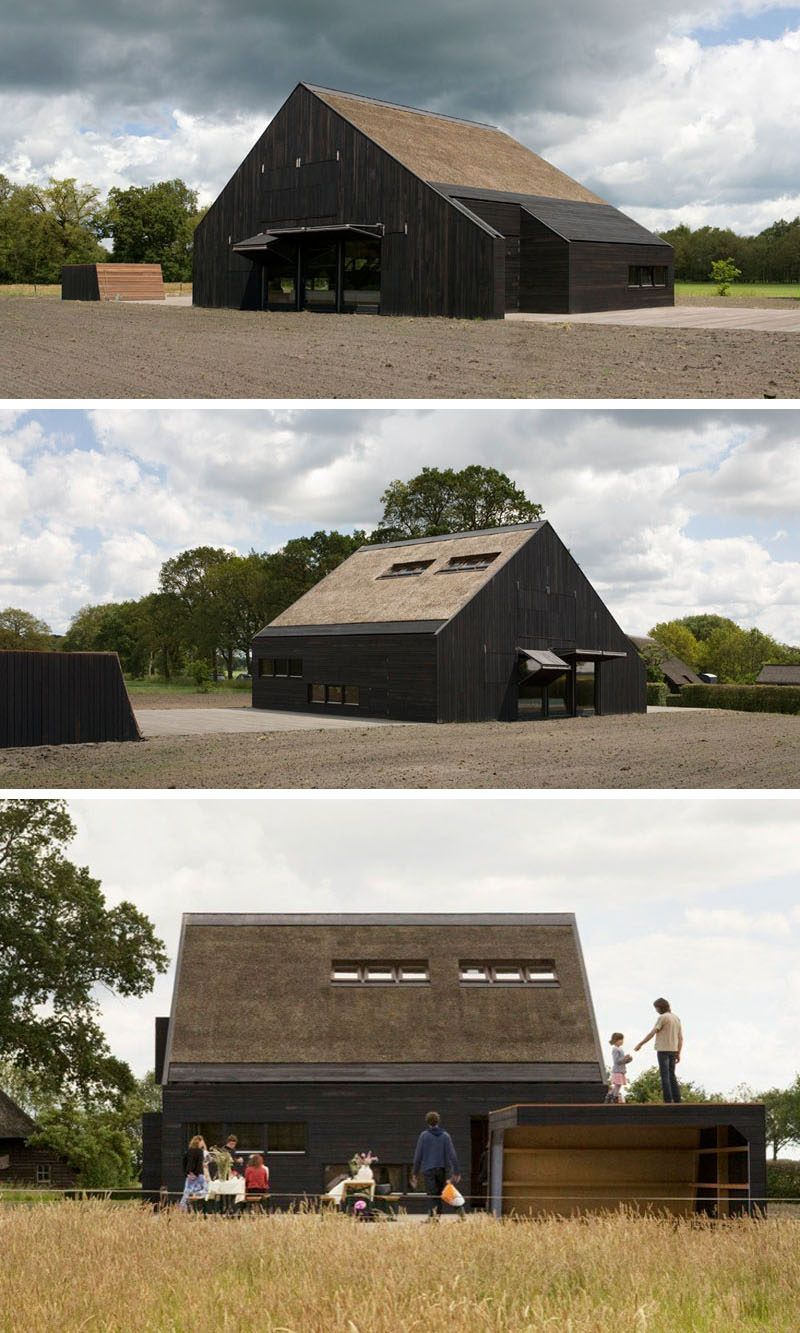 12 Examples Of Modern Houses And Buildings That Have A Thatched Roof Thatched Roof Small House Design Modern House