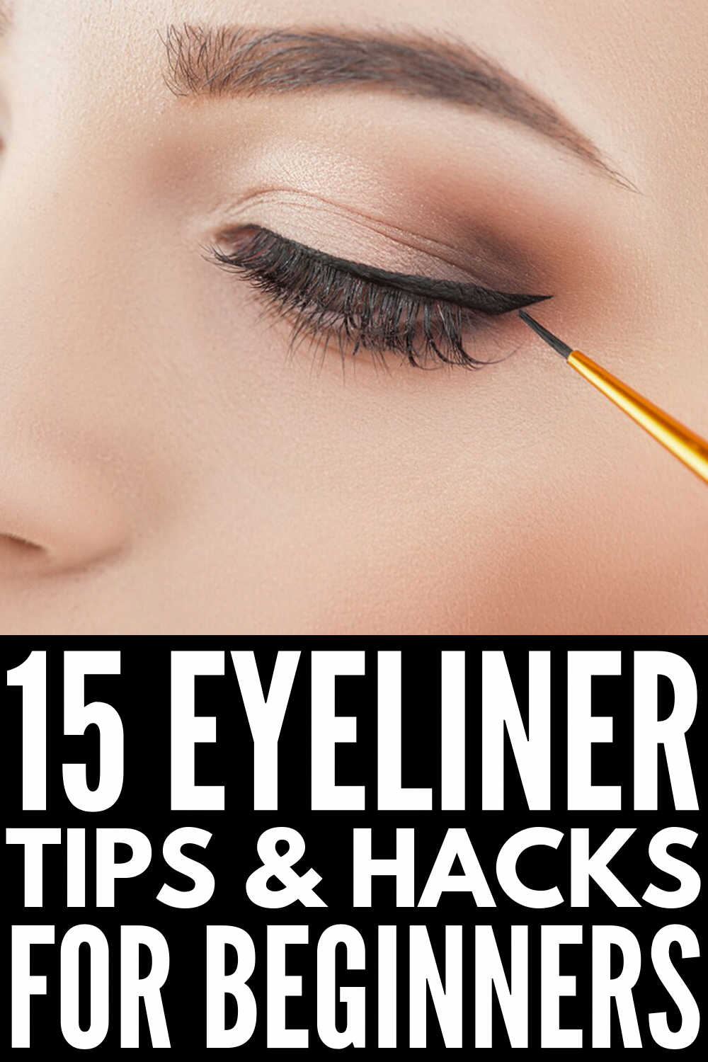 11 Eyeliner Hacks for Beginners  Learn how to apply winged