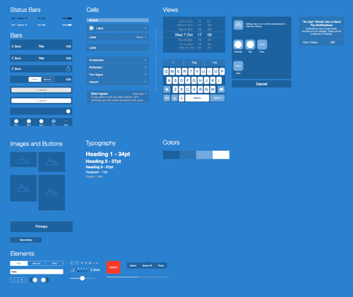 Prototyping ios and android apps with sketch with a freebie malvernweather Gallery