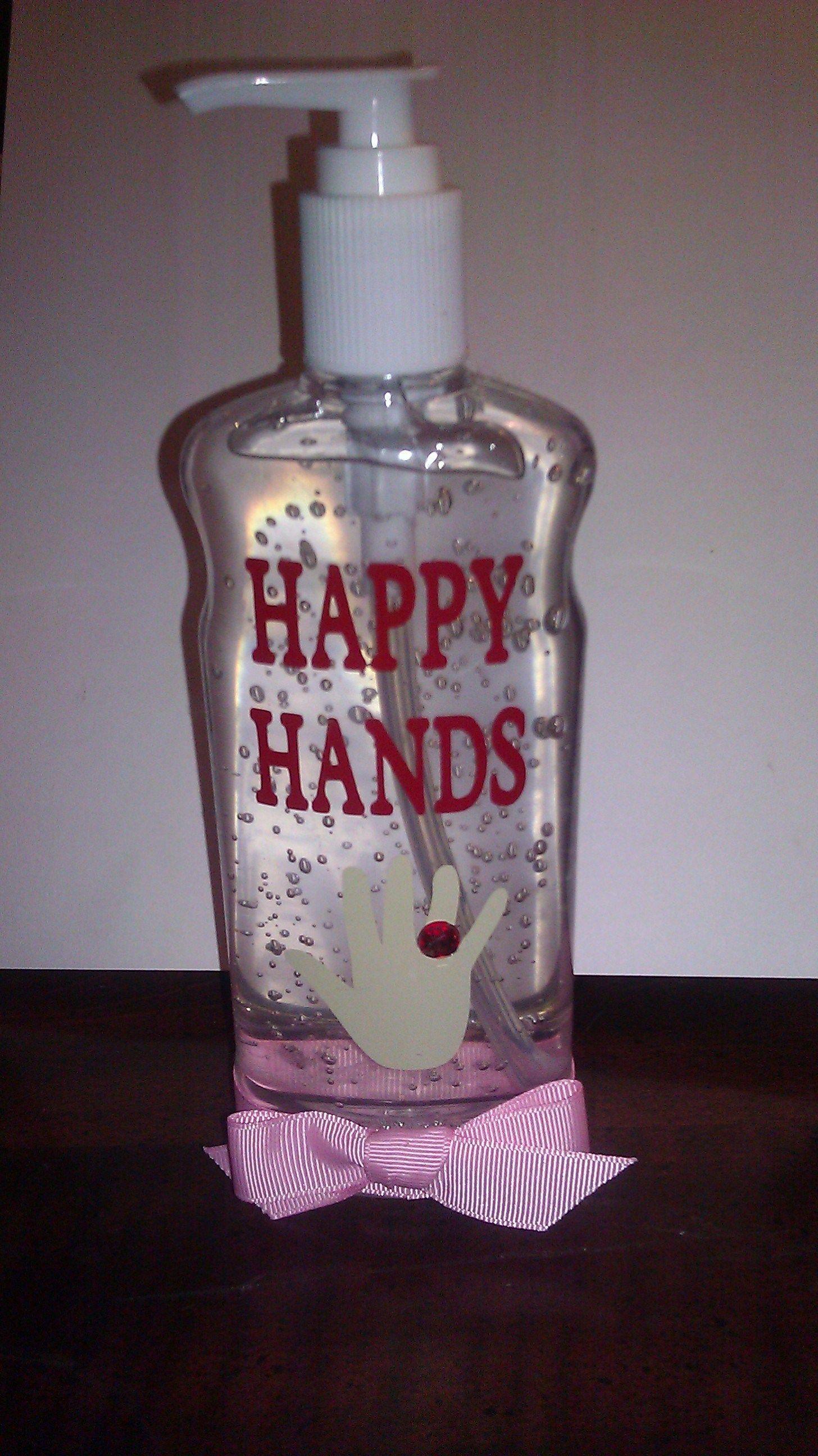 Vinyl Decorated Hand Sanitizer Hand Sanitizer Vinyl