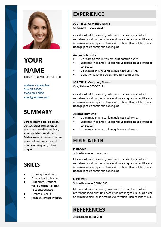 Dalston Elegant Powerpoint Resume Template Free Resume Template Word Free Resume Template Download Resume Template Word