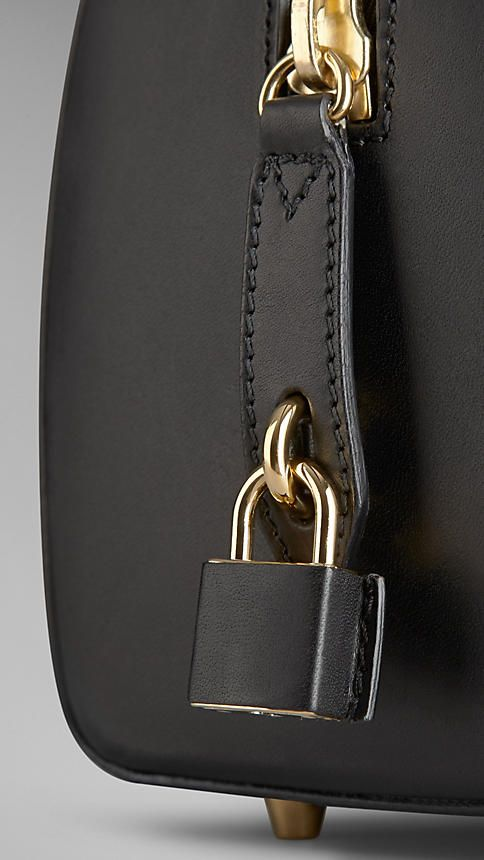 Small Sartorial Leather Bowling Bag | Burberry