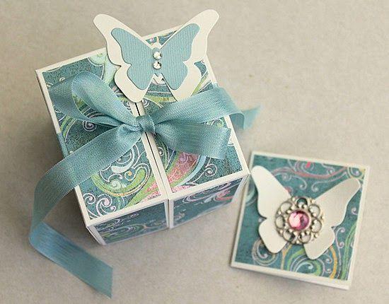 Origami gift box