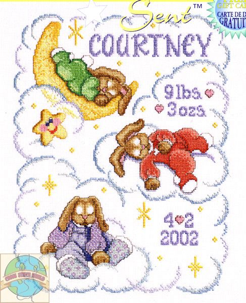 1000 images about call me grandma – Baby Birth Announcement Cross Stitch Patterns