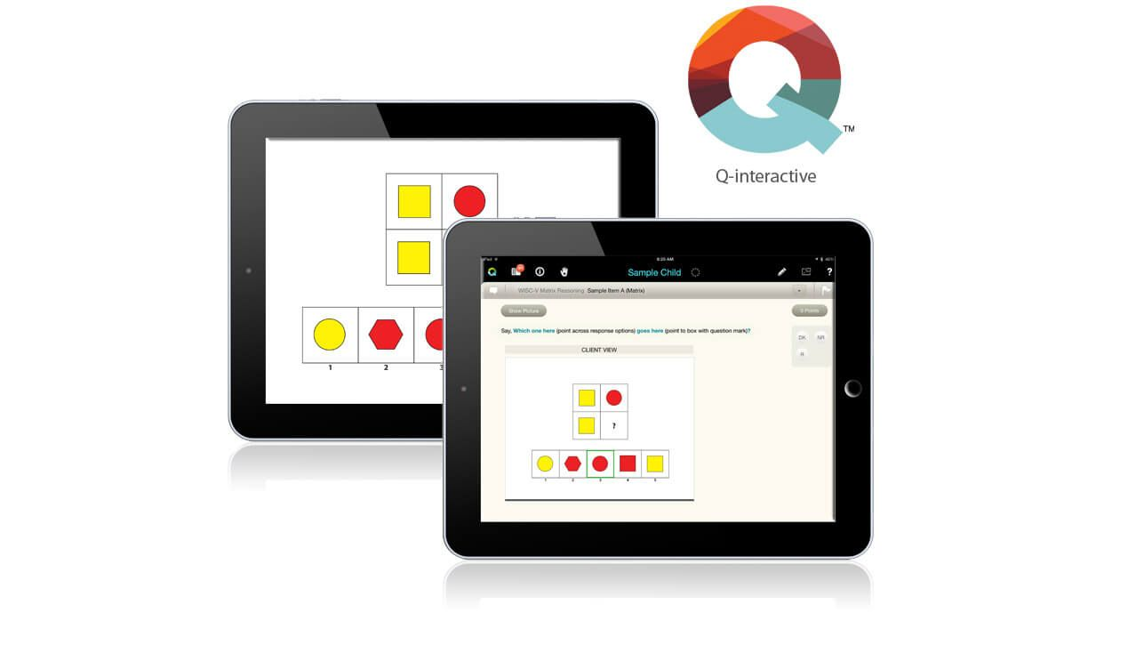 Q-interactive is the contemporary method used for conducting ...