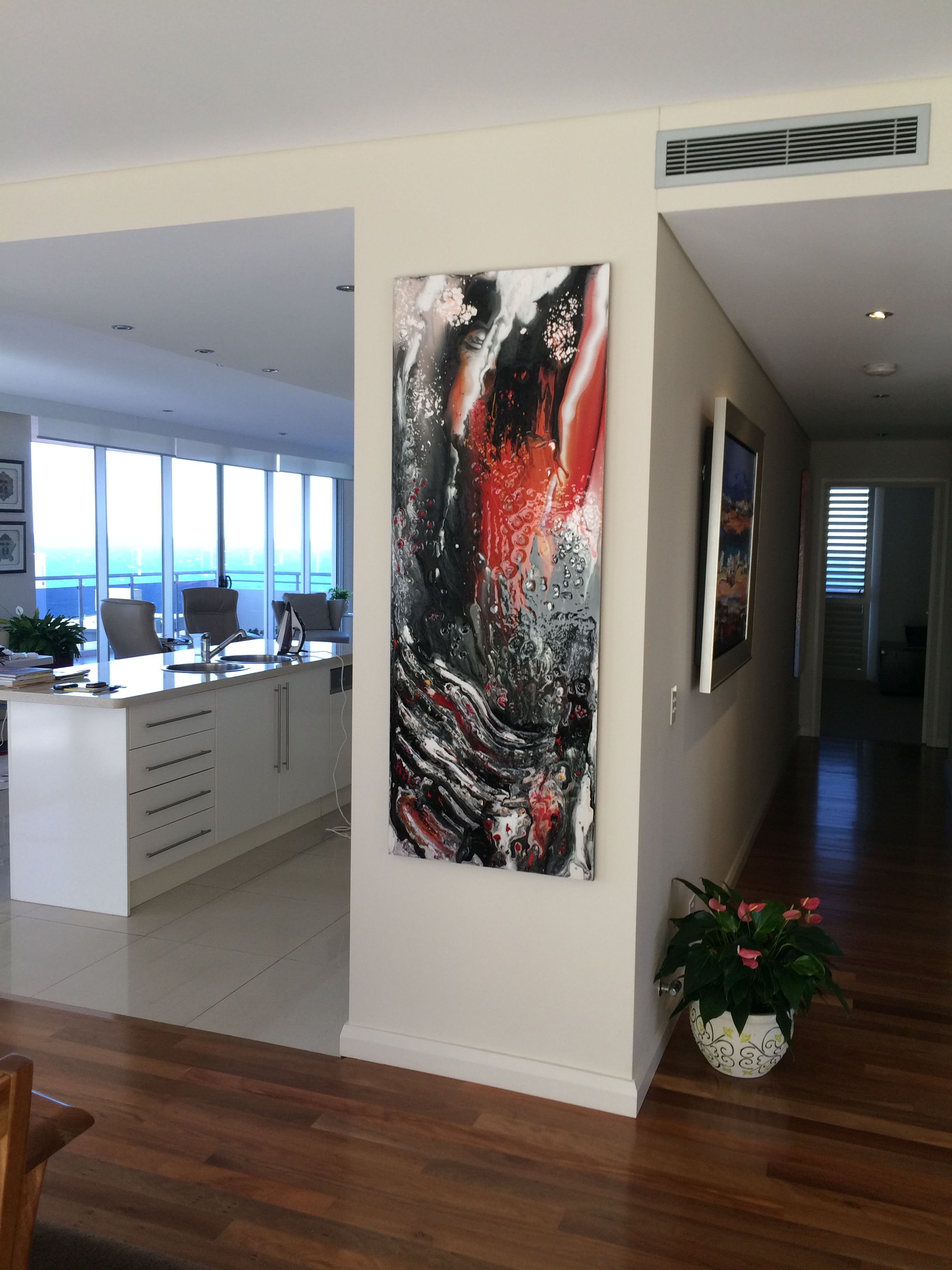 160cm x 60cm  #abstract #artwork created by #artist #Glenn #Farquhar owner of #ArtFusion #studio #Gallery www.artfusionproductions.com.au #Learn-how-to-Paint #artlessons  buy #Interior-Design-Artworks
