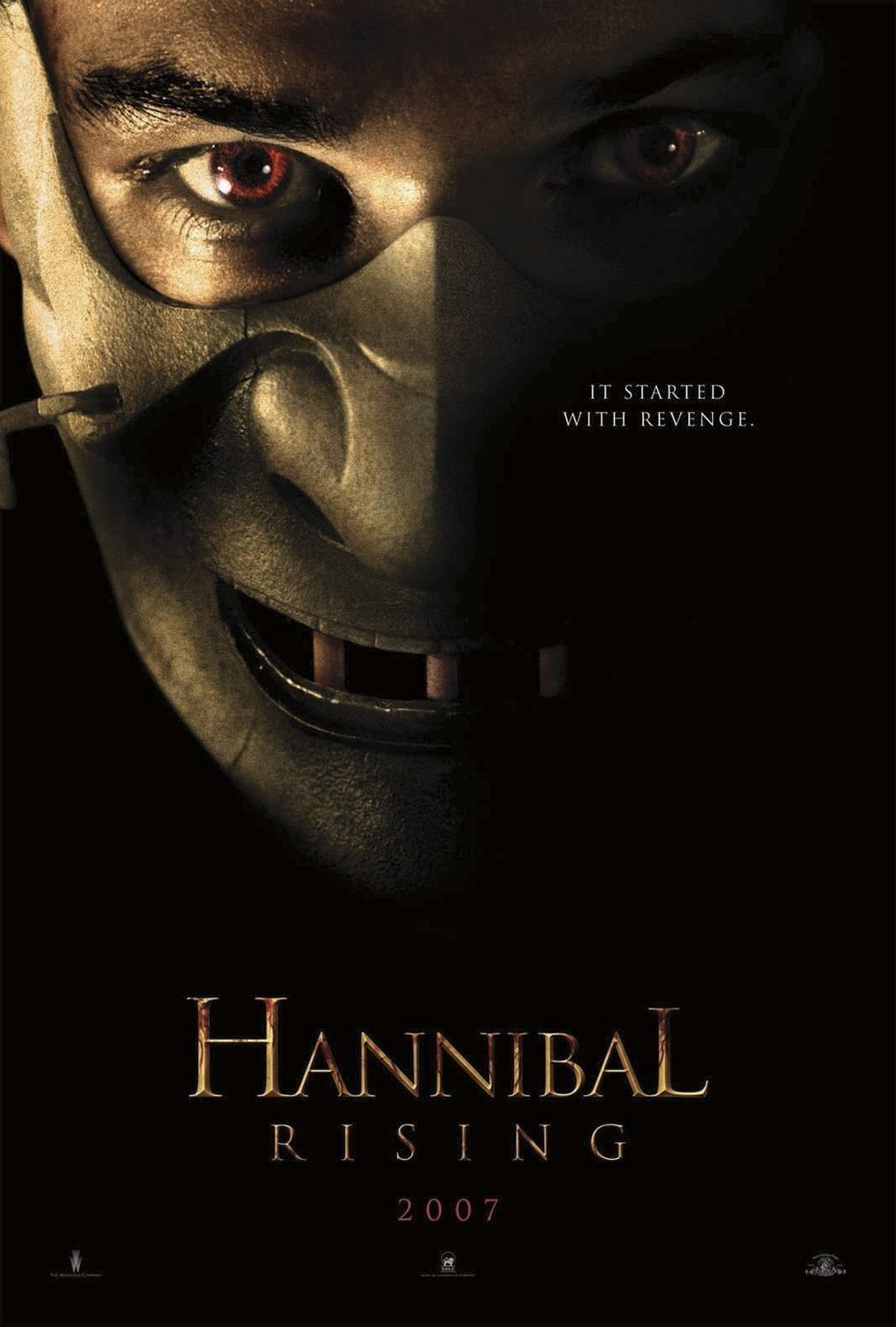 Pin By Biv Bc On Cine Posters Hannibal Rising Best Horror Movies Hannibal
