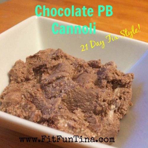 Super easy, super quick, and super delicious snack to satisfy that sweet tooth! 21 Day Fix - 1 red, 1 tsp For more easy and clean recipes, head over to www.FitFunTina.com.