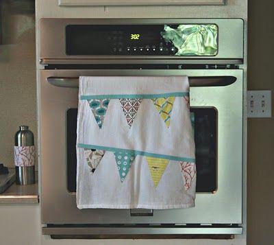 Bunting Tea Towel DIY