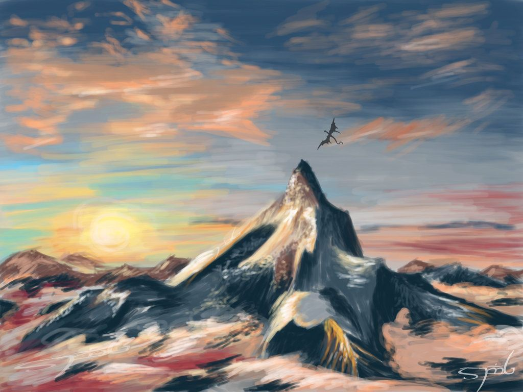 The Lonely Mountain Wallpaper Images, Photos, Reviews