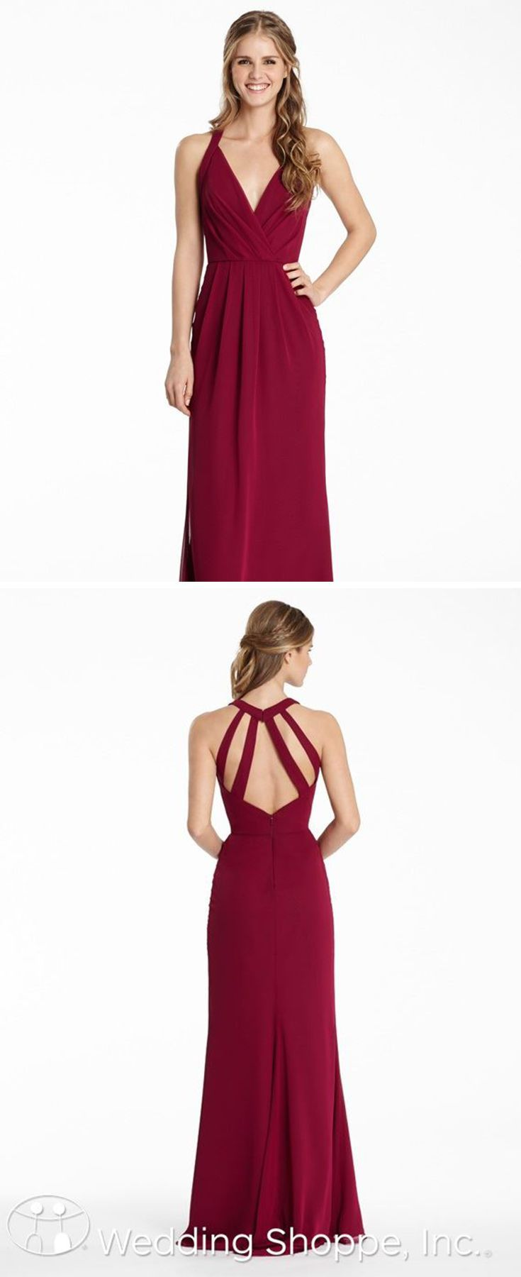 Hayley Paige Occasions Bridesmaid Dress 5550 | Chiffon bridesmaid ...